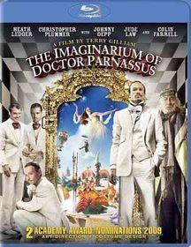 Imaginarium of Doctor Parnassus - (Region A Import Blu-ray Disc)