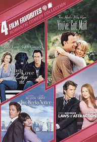 4 Film Favorites:Romantic Comedy Coll - (Region 1 Import DVD)