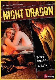 Night Dragon - (Region 1 Import DVD)