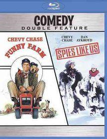 Funny Farm/Spies Like Us - (Region A Import Blu-ray Disc)