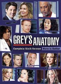Grey's Anatomy:Season 6 - (Region 1 Import DVD)