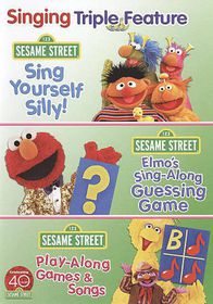Sesame Street:Sing and Play Triple Fe - (Region 1 Import DVD)