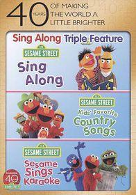 Sesame Street:Sing Along Fun Pack - (Region 1 Import DVD)