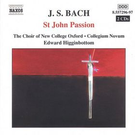 Bach - St John Passion;Higginbottom (CD)