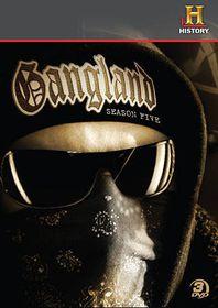 Gangland:Complete Season 5 - (Region 1 Import DVD)