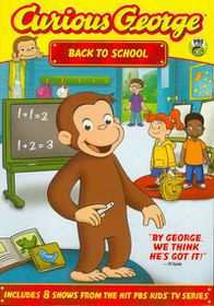 Curious George:Back to School - (Region 1 Import DVD)