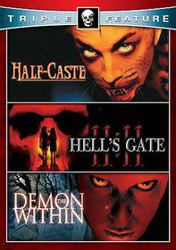 Half Caste/Demon Within/Hell's Gate 1 - (Region 1 Import DVD)