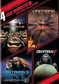 4 Film Favorites:Critters 1-4 - (Region 1 Import DVD)