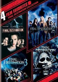 4 Film Favorites:Final Destination1-4 - (Region 1 Import DVD)