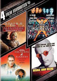 4 Film Favorites:Oliver Stone - (Region 1 Import DVD)