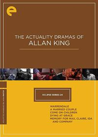 Eclipse 24:Actuality Drama/Allan King - (Region 1 Import DVD)