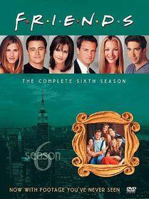 Friends:Complete Sixth Season - (Region 1 Import DVD)