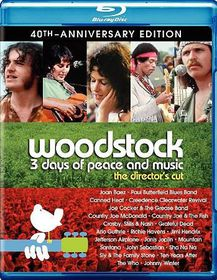 Woodstock 3 Days Dc 40th Ann Uce - (Region A Import Blu-ray Disc)