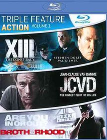 Action Triple Feature Volume 1 - (Region A Import Blu-ray Disc)