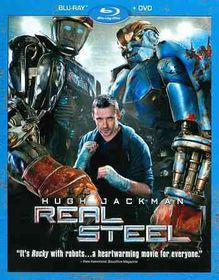 Real Steel - (Region A Import Blu-ray Disc)