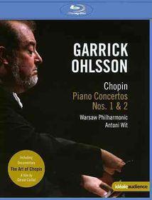 Chopin:Garrick Ohlsson Plays Chopin T - (Region A Import Blu-ray Disc)