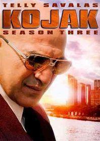 Kojak:Season Three - (Region 1 Import DVD)