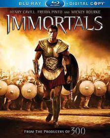 Immortals - (Region A Import Blu-ray Disc)