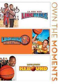 Like Mike/Like Mike 2/Rebound - (Region 1 Import DVD)
