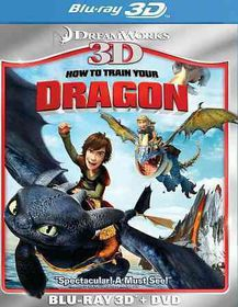 How to Train Your Dragon 3d - (Region A Import Blu-ray Disc)