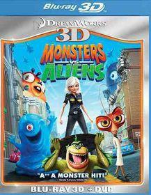 Monsters Vs Aliens 3d - (Region A Import Blu-ray Disc)
