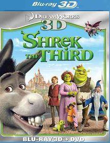 Shrek the Third 3d - (Region A Import Blu-ray Disc)