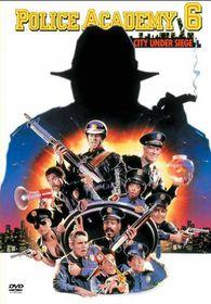 Police Academy 6: City Under Siege - (DVD)