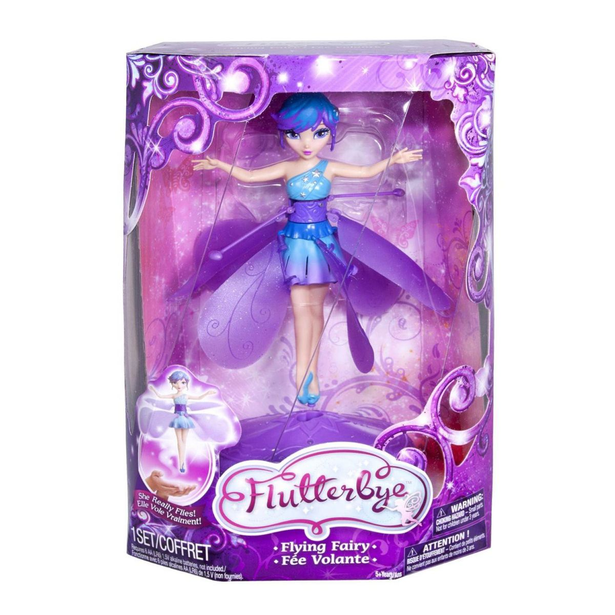 Flutterbye flying fairy purple stardust buy online in south flutterbye flying fairy purple stardust mightylinksfo