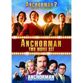 Anchorman 1 & 2 Box Set (DVD)