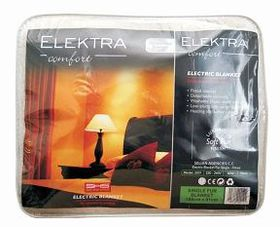 Elektra - Acrylic Fur Electric Blanket - Single