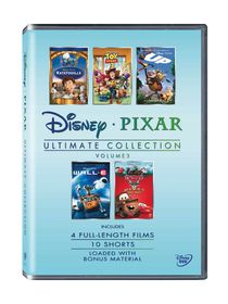 Ultimate Pixar Collection Vol 3 (DVD)