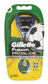 Gillette Fusion Proglide Manual Razor 2up - Football 2014 edition