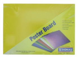 Donau Project Board A4 - Bright Yellow (Pack of 100)