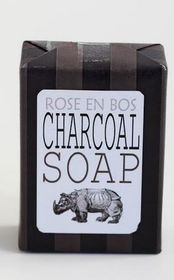 Rose en Bos Charcoal Soap - 100g