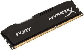 HyperX Fury Series Memory 8GB DDR3-1600MHz - Black