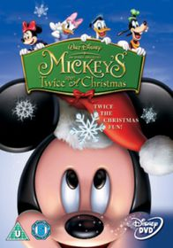 Mickey's Twice upon a Christmas (DVD)