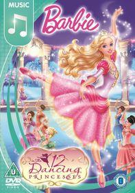 Barbie in the 12 Dancing Princesses - (Import DVD)