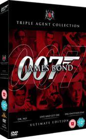 James Bond Ultimate Red Triple (DVD)