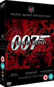 James Bond Ultimate Red Triple (DVD)