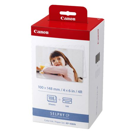 Canon Selphy Kp 108in Ink And Paper Set 108 Prints Buy Online In South Africa Takealot Com