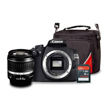 Canon 1200D 18MP DSLR Starter Bundle | Buy Online in South Africa