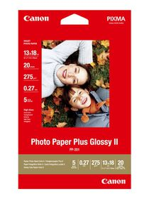 Canon PP-201 5x7 275gsm Plus Glossy Photo Paper (20 Sheets)