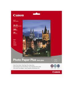 """Canon SG-201 8 x 10"""" Semi Gloss Photo Paper (20 Sheets)"""