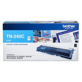 Brother TN-240C Cyan Laser Toner Cartridge