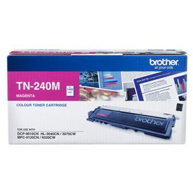 Brother TN-240M Magenta Laser Toner Cartridge