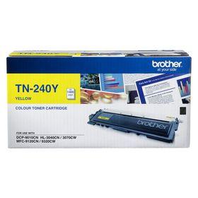 Brother TN-240Y Yellow Laser Toner Cartridge