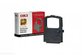 OKI 01126302 Black Ribbon Cartridge