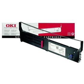 OKI 01171302 Black Ribbon Cartridge