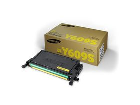 Samsung CLT-Y609S Yellow Laser Toner Cartridge