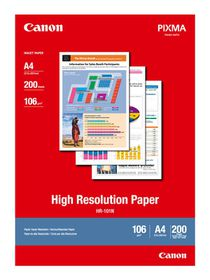 Canon HR-101N A4 High Resolution Photo Paper (200 Sheets)